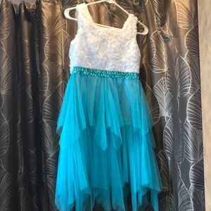 Beautiful girls special occasion dress